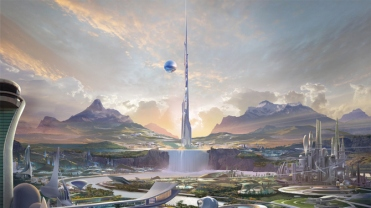 Disney's TOMORROWLAND Conceptual Art look at Tomorrowland ©Disney 2015